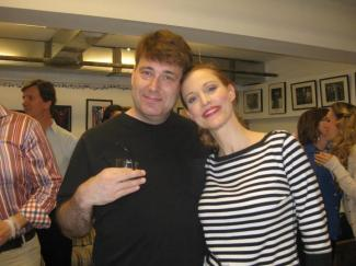 Image of Me and Rachel York (The Game)