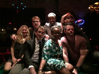Image of Murder Ballad Cast at Studio Theatre